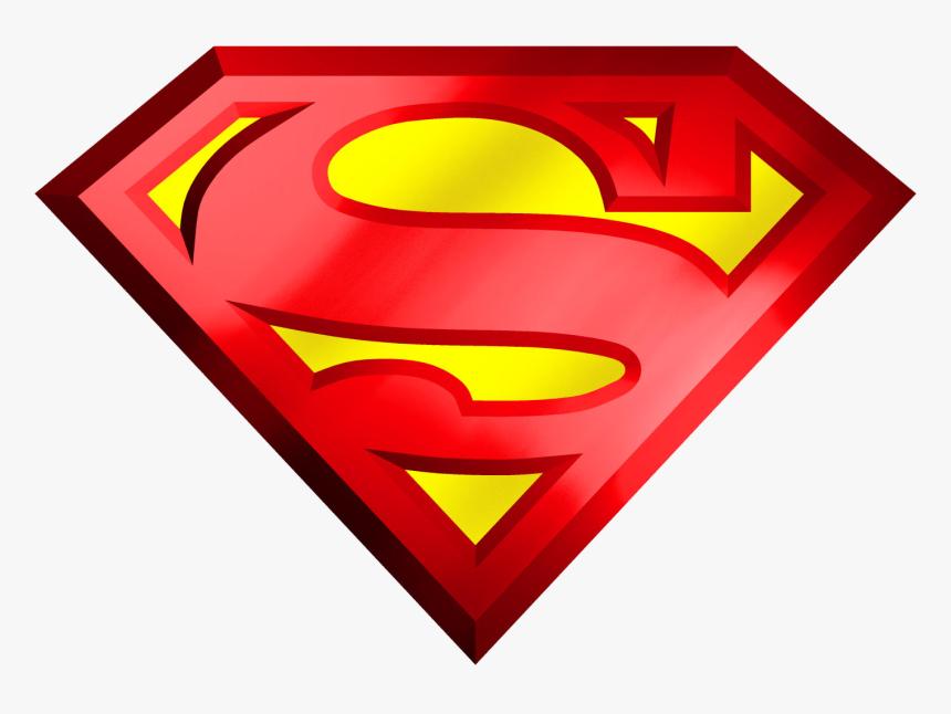 Superman Logo Transparent Png - Logo Super Man Png, Png Download, Free Download