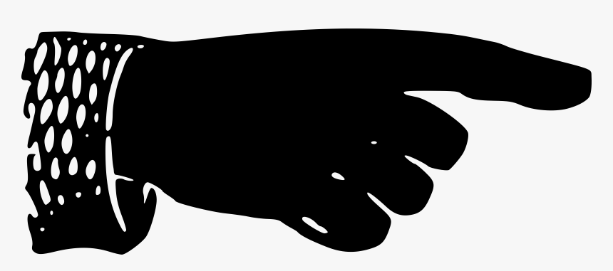 Victorian Pointing Hand Clip Arts - Victorian Pointing Finger Png, Transparent Png, Free Download
