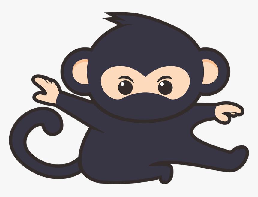Gambar Monyet Animasi Png Gambar Kartun Monyet Lucu Hd Png Download Kindpng
