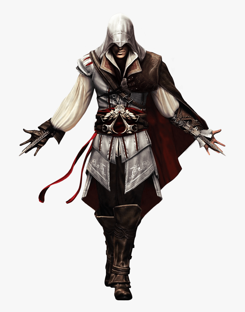 Assassins Creed Center Face Ezio Auditore Hd Png Download