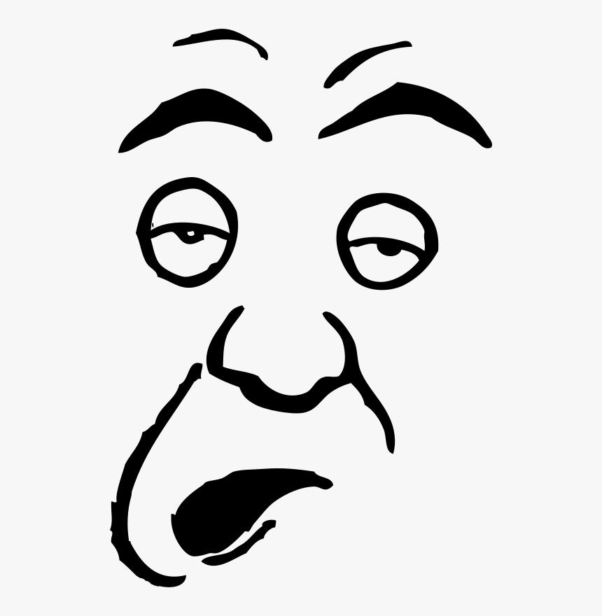 Dumb Person Clip Art Faces - Stupid Face Clip Art, HD Png Download ...