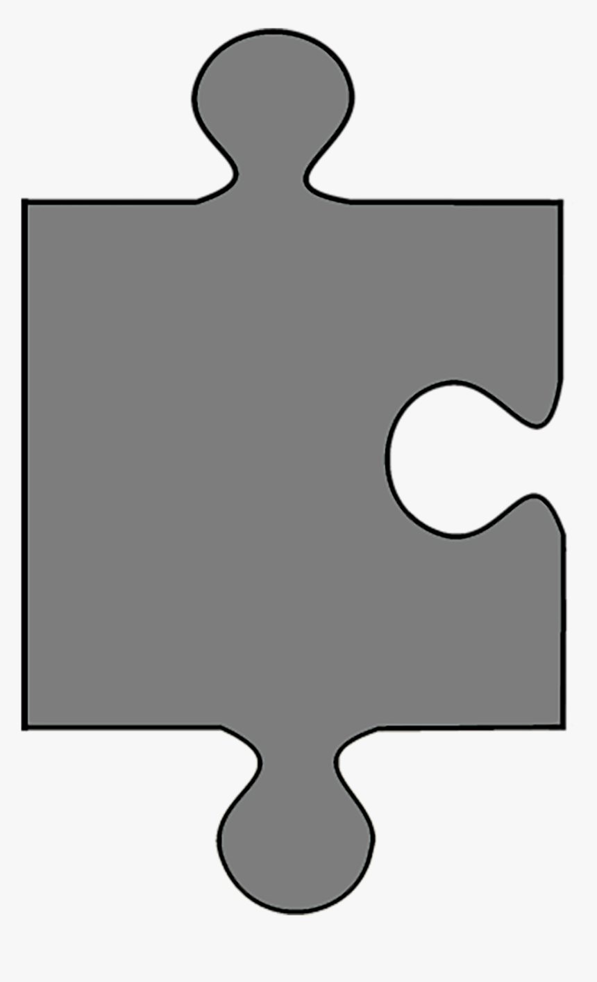 Gray Puzzle Piece, HD Png Download, Free Download