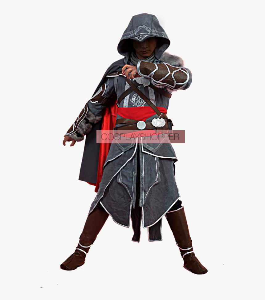 "Revelations Ezio Auditore Da Firenze Cosplay Costume""  - Assassin's Creed Cosplay Ezio, HD Png Download, Free Download"