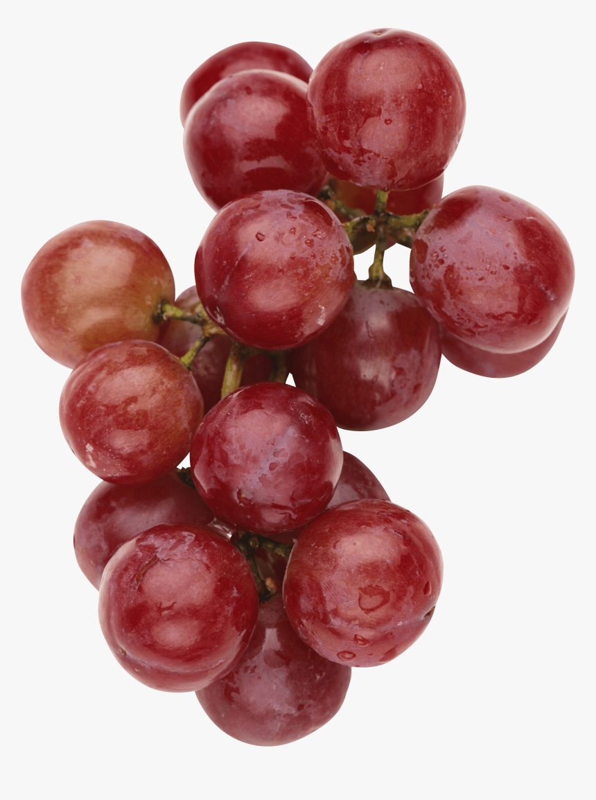 Yummy Red Grape - Red Grapes Free Png, Transparent Png, Free Download