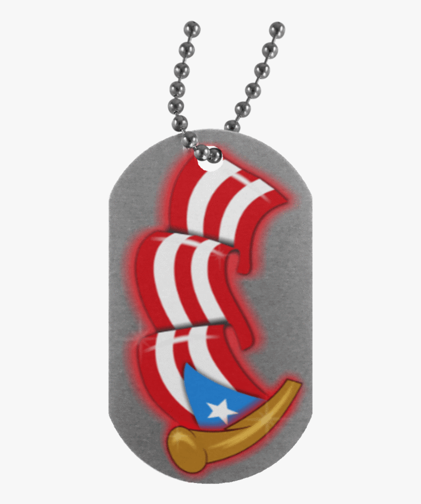 Airbrush Flag Dog Tag - Dog Tag Personalized Gifts From Mother To Son, HD Png Download, Free Download