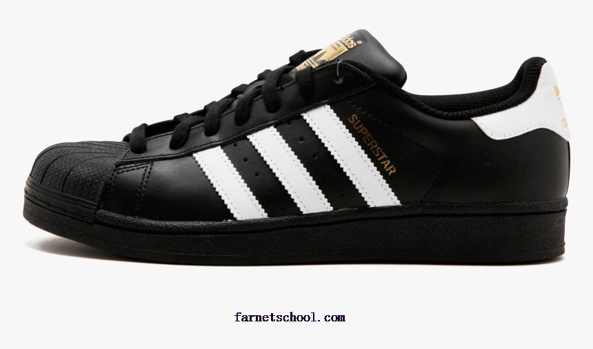 gramática Asesorar Disfraces  Mens Adidas Superstar Foundation Shoes Cblack,ftwwht,cblack - Adidas Shoes  Png Hd, Transparent Png - kindpng