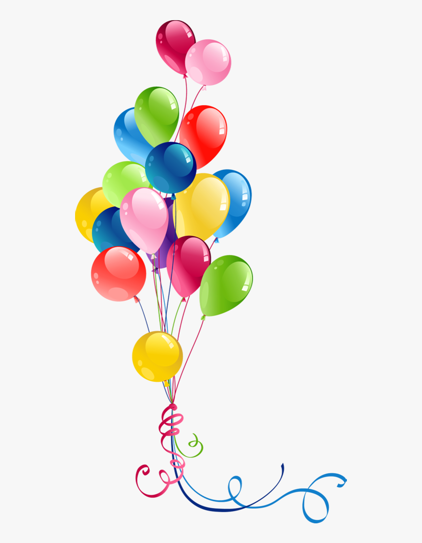 Happy Birthday Balloons Png Image Hd - Happy Birthday Balloons Clip Art, Transparent Png, Free Download