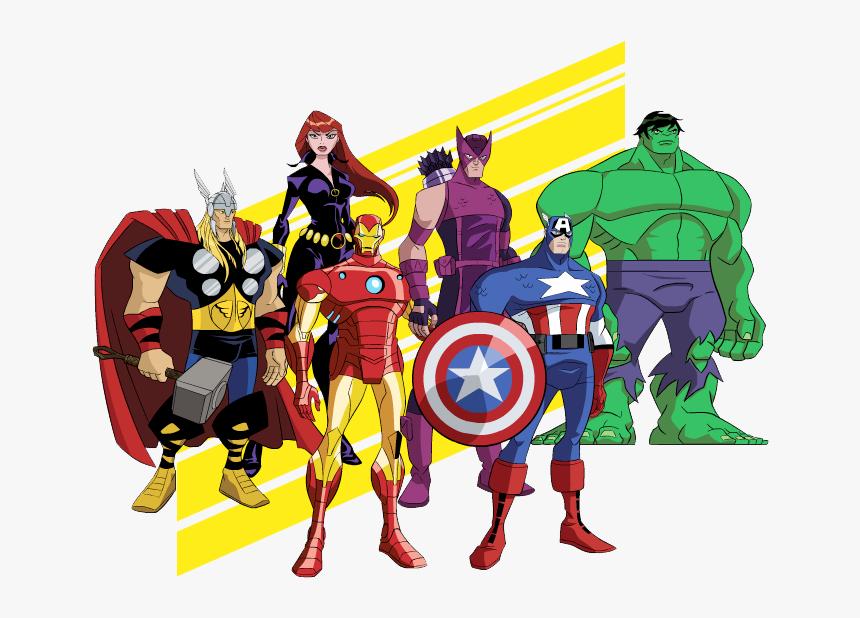 Lego Avengers Clipart Hd - Thor Hulk Capitan America Iron Man Png, Transparent Png, Free Download