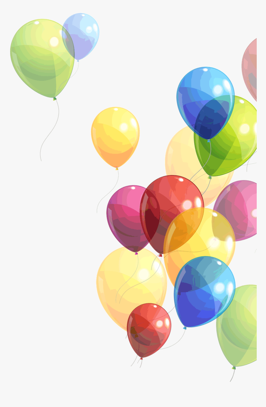 Balloon Birthday Png File Hd Clipart - Balloons Png, Transparent Png, Free Download