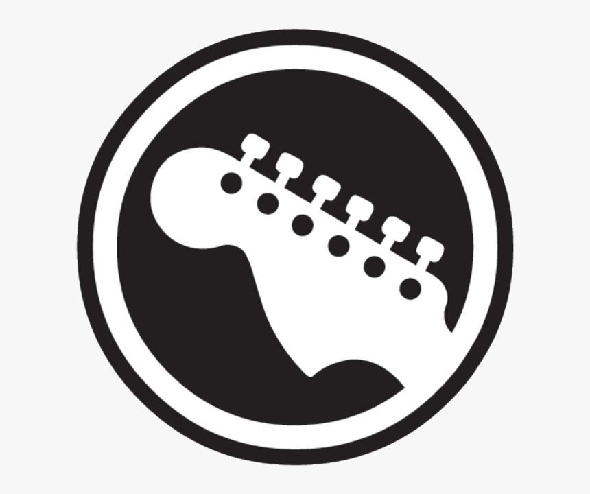 Hero Bass Guitar Band Rock Logo Clipart - Rock Band Guitar Logo, HD Png Download, Free Download