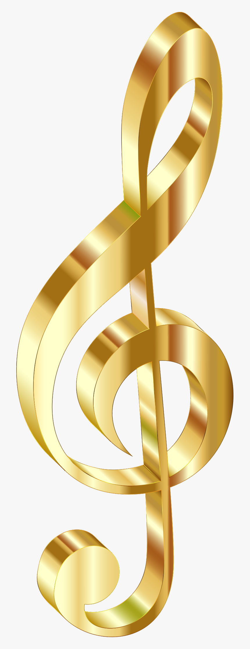 Clip Art Jpg Library Download - Gold Music Note Transparent Background, HD Png Download, Free Download