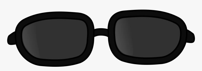 Sunglass Svg Transparent - Sunglass Clipart Black And White, HD Png Download, Free Download
