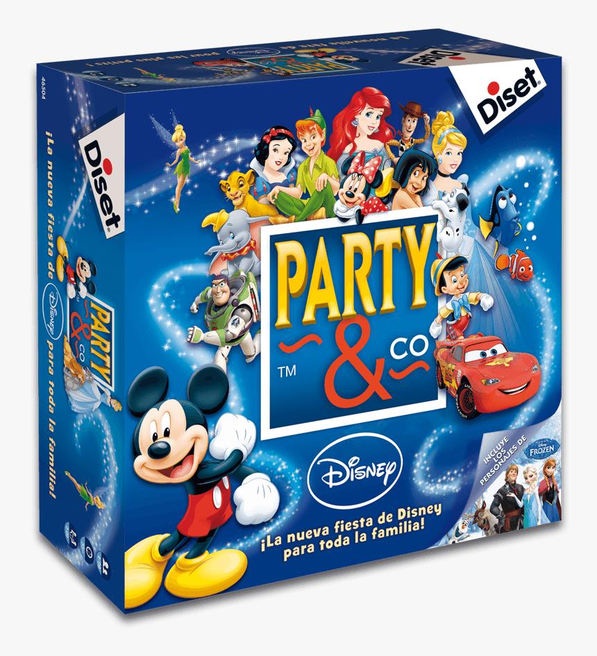 ¡la Nueva Fiesta De Disney - Juego De Mesa Party & Co Disney, HD Png Download, Free Download