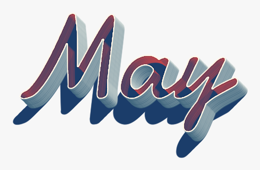 May 3d Name Logo Png - Calligraphy, Transparent Png, Free Download