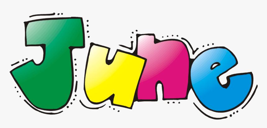 Clip Art Month Of June Clip Art - June Month Clipart, HD Png Download -  kindpng