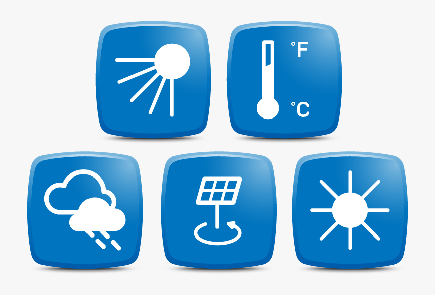 Transparent Sensor Icon Png - Weather Monitoring System Icon, Png Download, Free Download