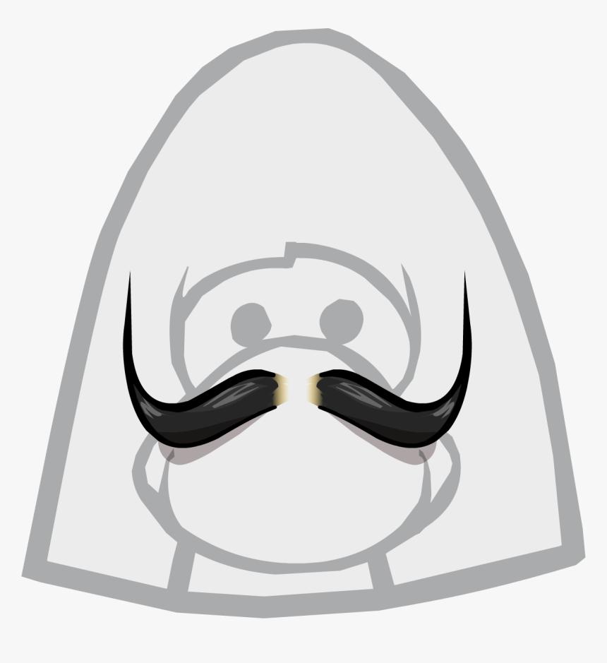 Transparent Mustach Png - Club Penguin Elvis Hair, Png Download, Free Download