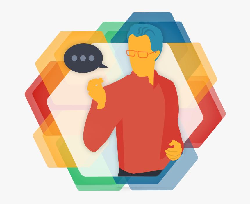 Facilitation Clipart Business Culture - Facilitator Icon Png, Transparent Png, Free Download