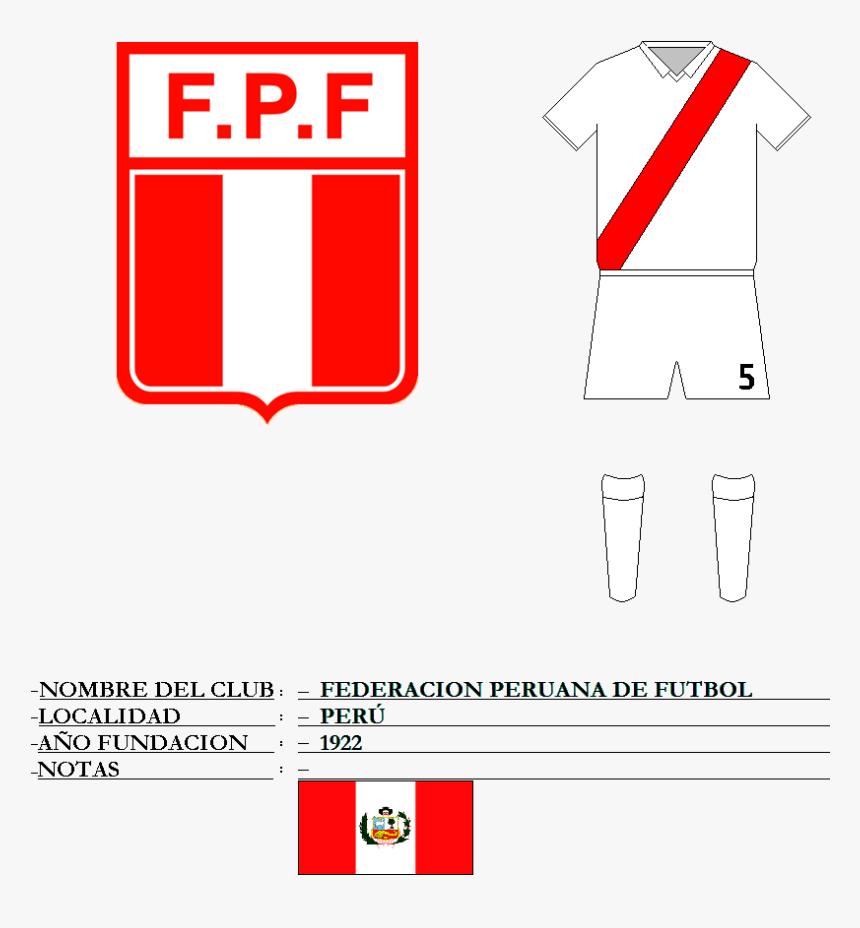 Federação Peruana De Futebol, HD Png Download, Free Download