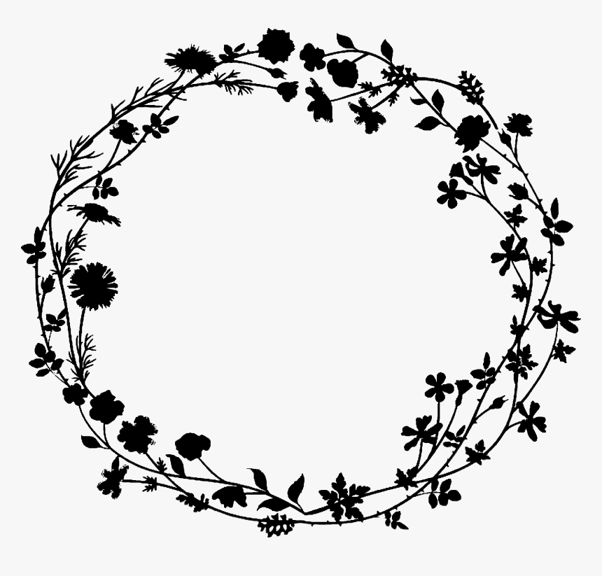 Clip Art Image Drawing Design Illustration Flower Wreath Icon Png Transparent Png Kindpng