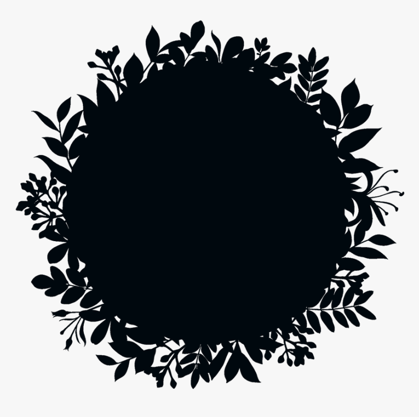 #vines #florals #flowers #leaves #frame #border #wreath - Fondo De Logo Png, Transparent Png, Free Download