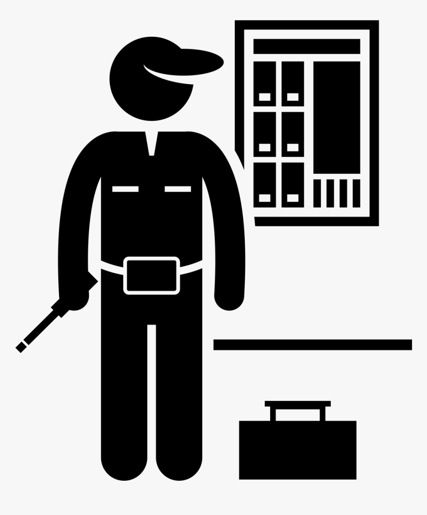 Transparent Spur Clipart - Electrician Icon, HD Png Download, Free Download