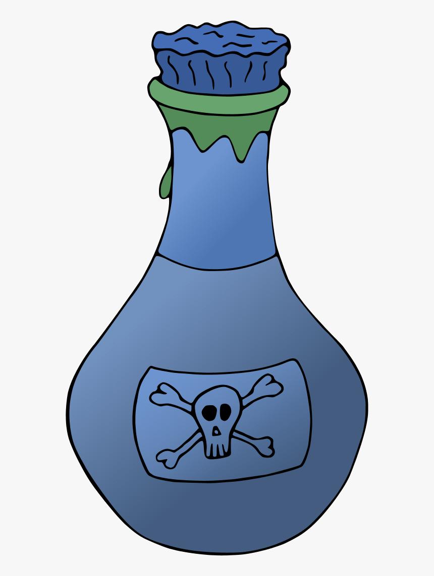 Vector Clip Art - Poison Bottle Clip Art, HD Png Download, Free Download