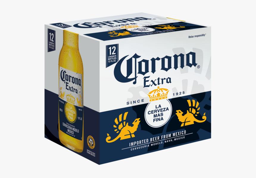 Corona Extra 12pk Bottles - Corona Extra 12 Pk, HD Png Download, Free Download