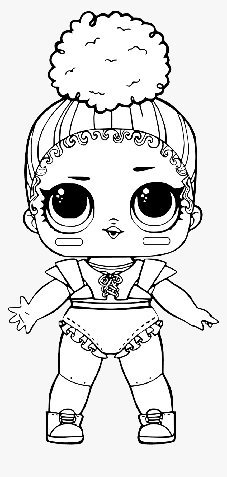 L - O - L - Surprise Doll Png - Lol Dolls Coloring Pages ...
