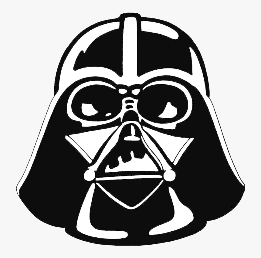 Darth Vader Clipart Stencil - Star Wars Darth Vader Clipart, HD Png Download, Free Download