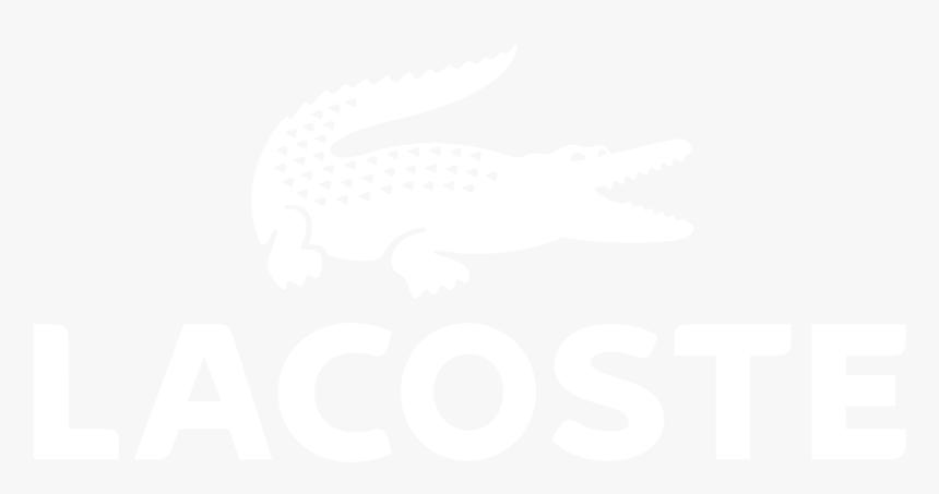 Lacoste - Ihg White Logo, HD Png Download, Free Download