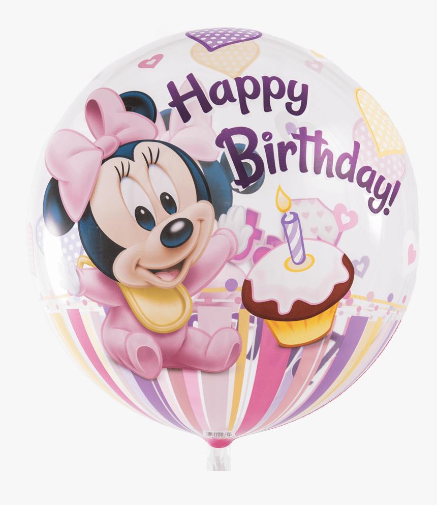 Transparent Minnie Mouse Birthday Png - Minnie Mouse Happy 1st Birthday, Png Download, Free Download