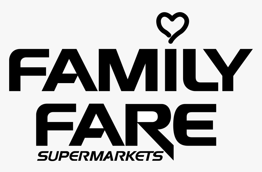 Family Fare Logo Png Transparent - Family Fare Supermarkets Logo, Png Download, Free Download