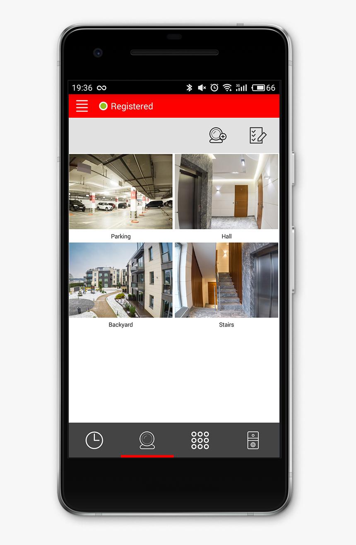 Bas-ip Intercom - Bas Ip Smartphone, HD Png Download, Free Download