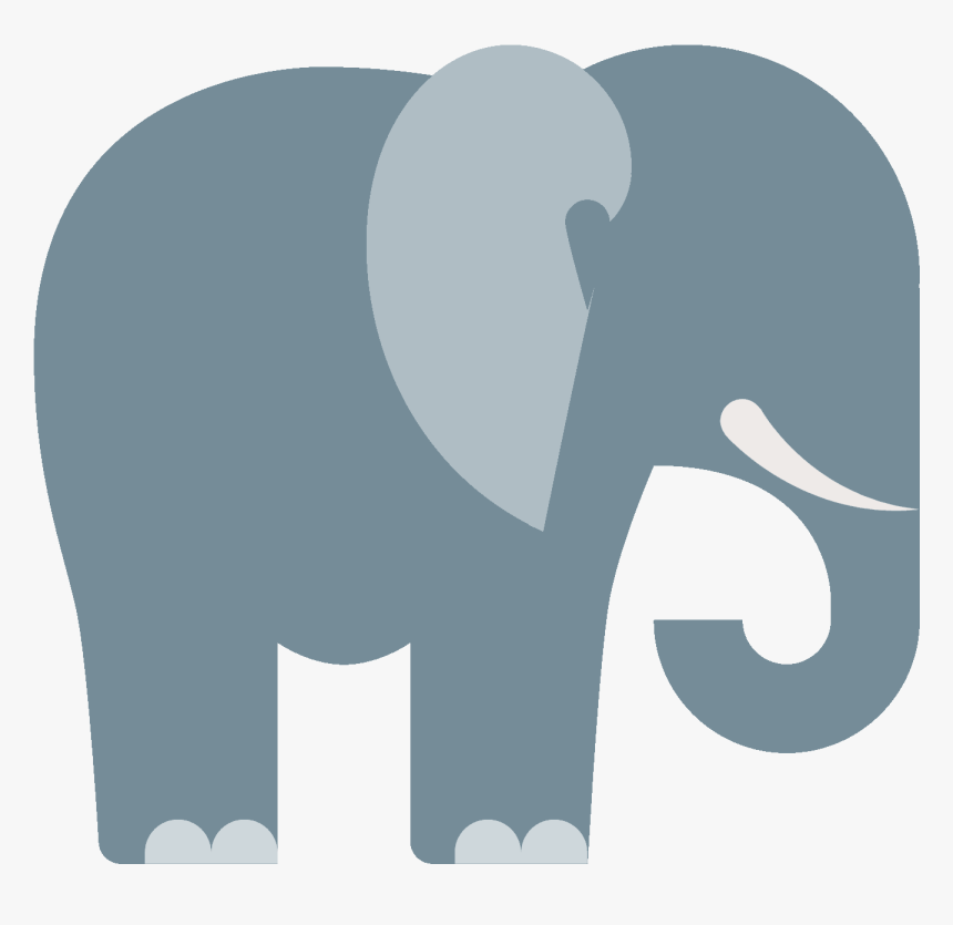 Computer Icons Elephant Rhinoceros Clip Art - Free Cute Elephant Icon, HD Png Download, Free Download