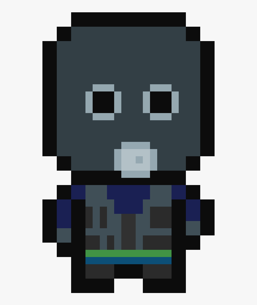 Pixel Art Call Of Duty Ghost , Png Download - Pixel Art Player Walking, Transparent Png, Free Download