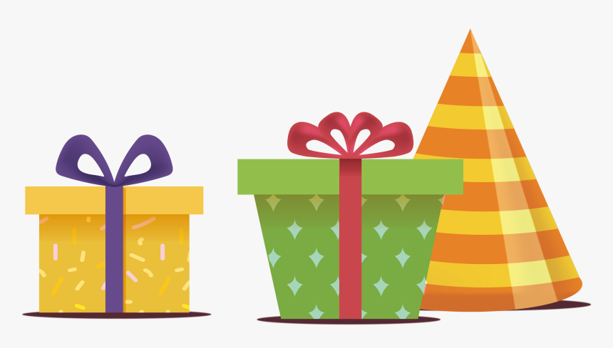 Transparent Birthday Presents Png - Presente Aniversário Png, Png Download, Free Download