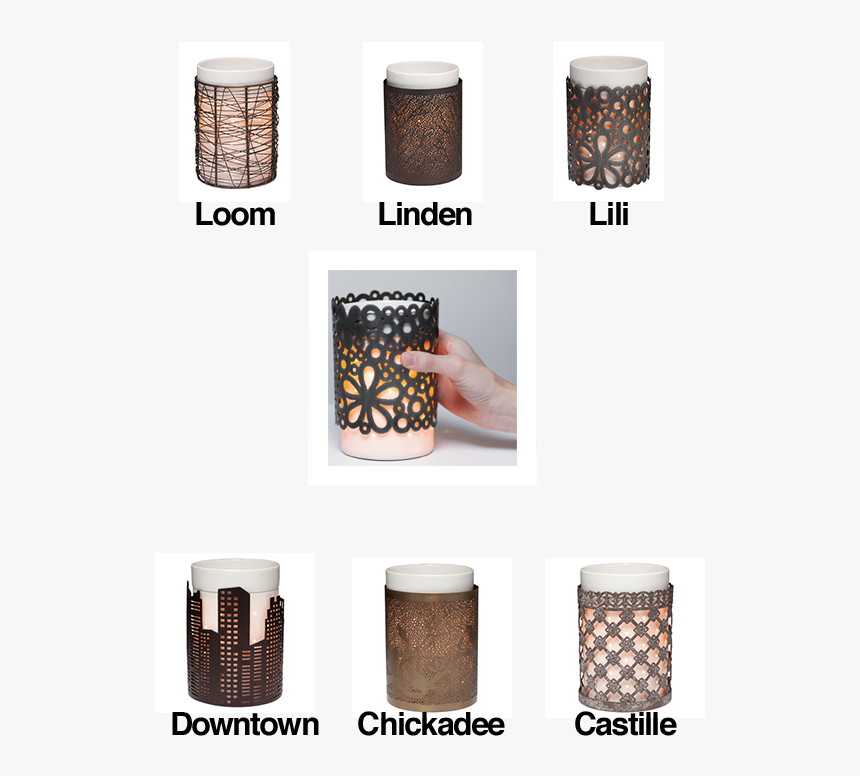 Scentsy Silhouette Collection - Castille Scentsy Warmer Wrap, HD Png Download, Free Download