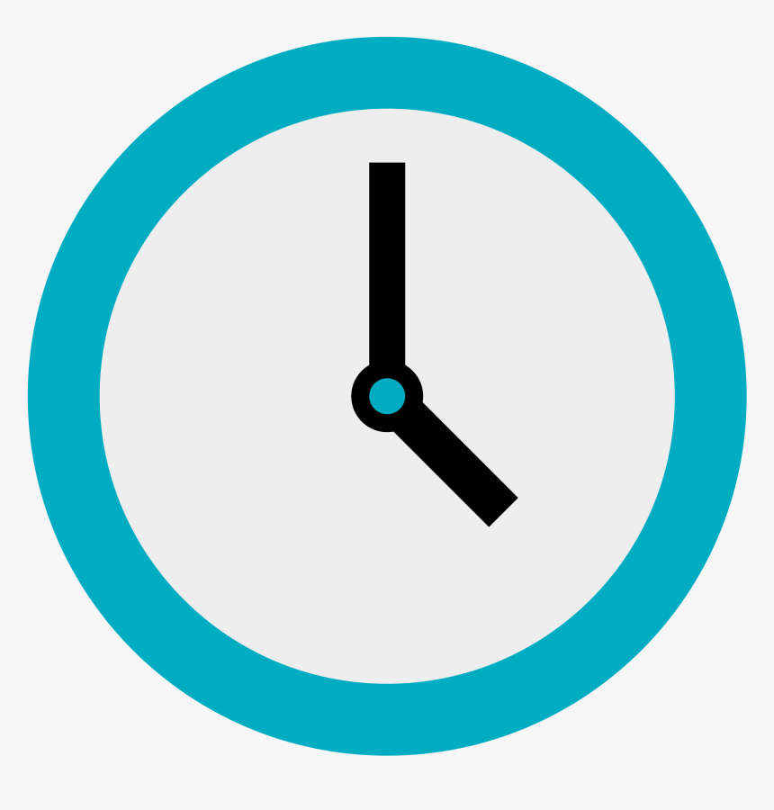 Thumb Image - Clock Flat Design Png, Transparent Png, Free Download
