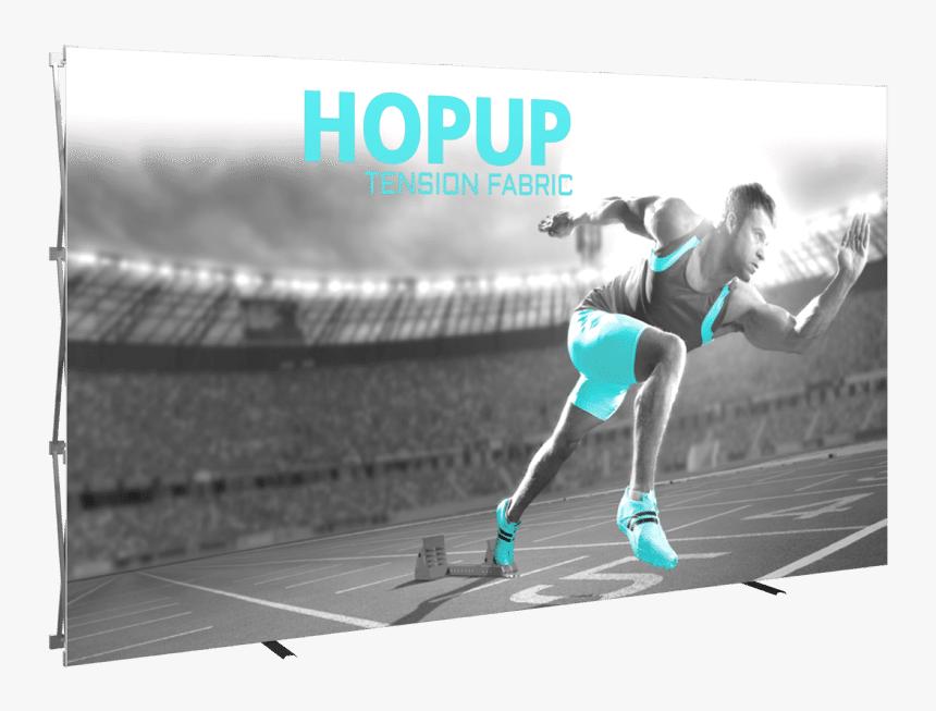 Hopup Tension Fabric Display, HD Png Download, Free Download