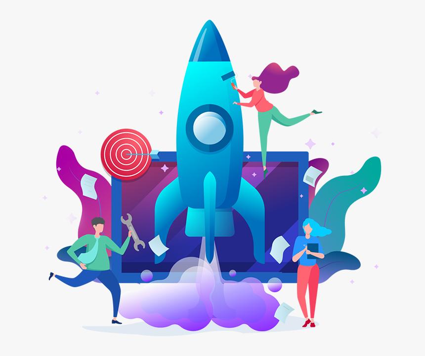 Digital Marketing Agency Illustrations, HD Png Download, Free Download