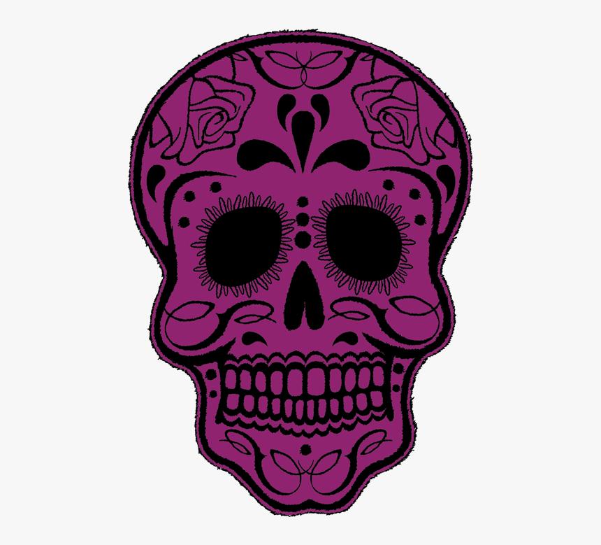 Transparent Pile Of Skulls Png - Purple Skull Clipart, Png Download, Free Download