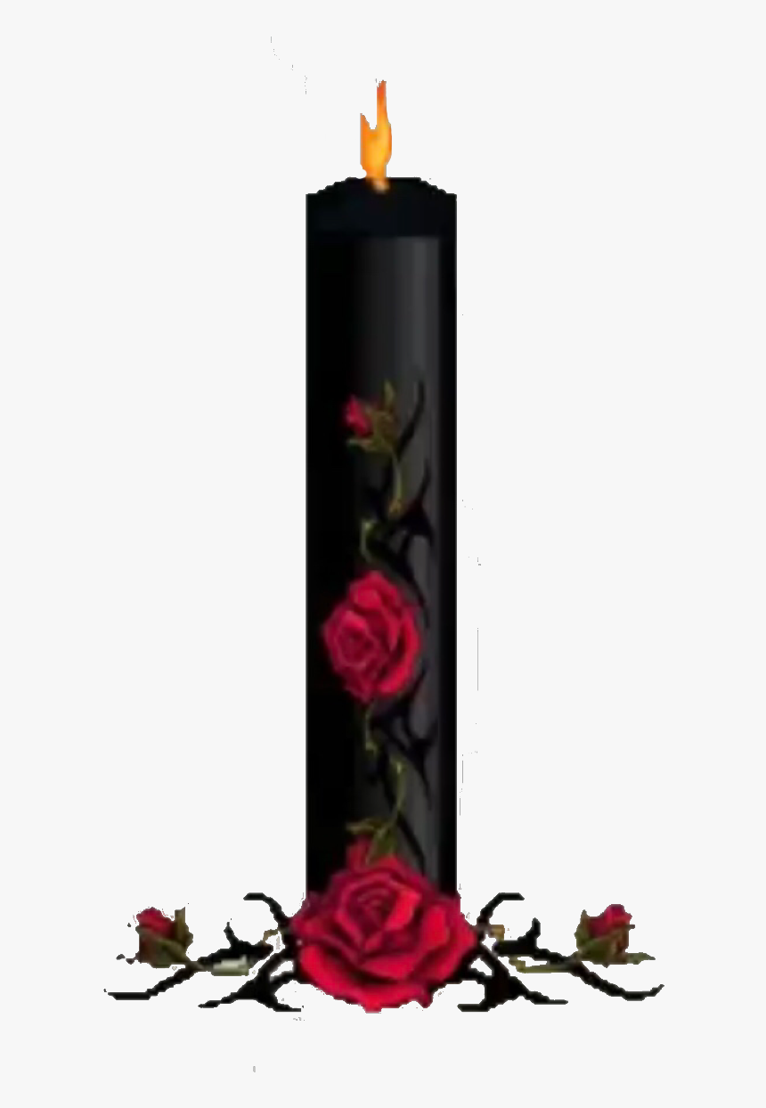 🕷 🕯 🥀 - Transparent Background Gothic Candle Transparent, HD Png Download, Free Download