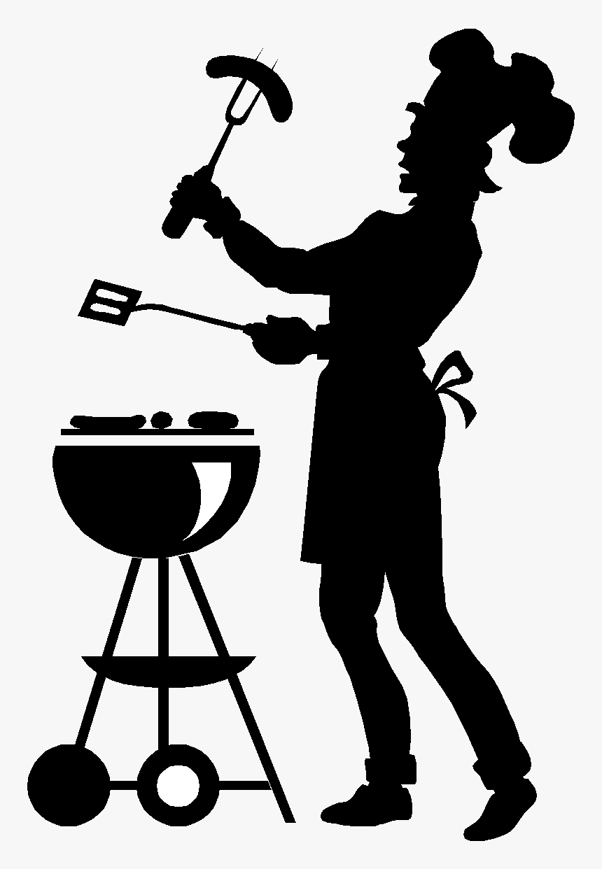 Bbq Black And White Clipart, HD Png Download, Free Download