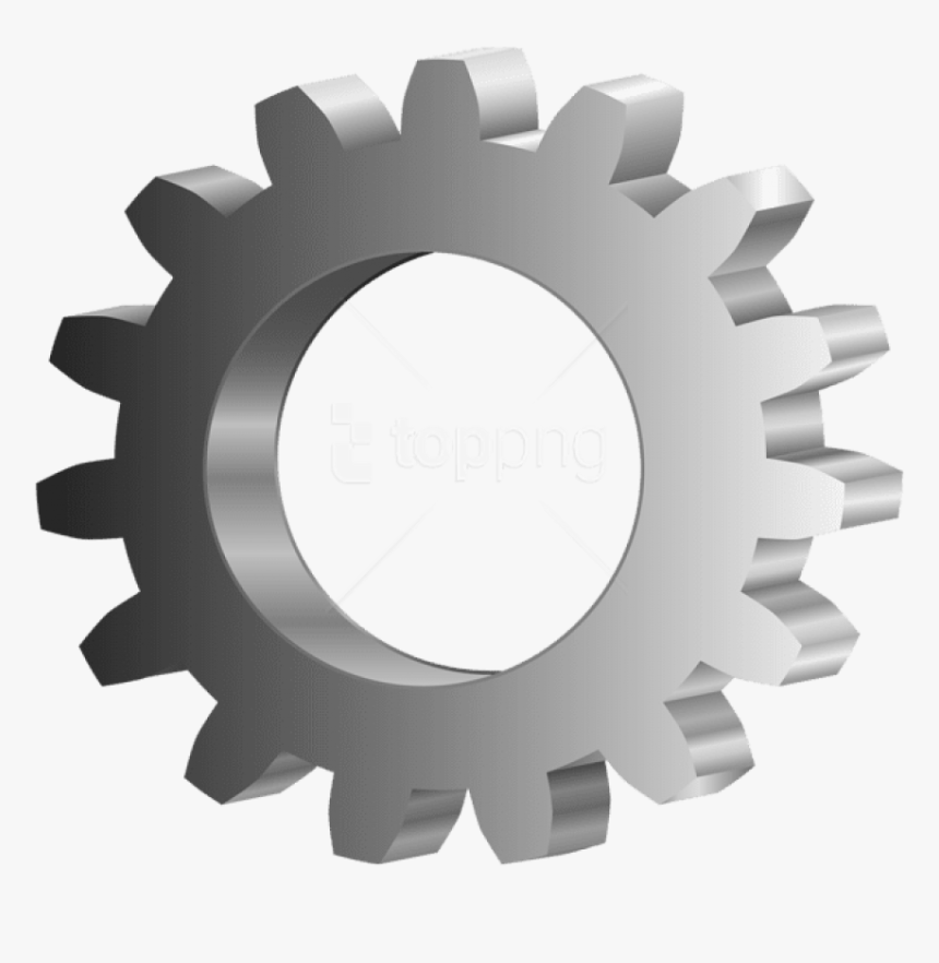 Gear Icon Png -gear Clipart Png - Gear, Transparent Png, Free Download