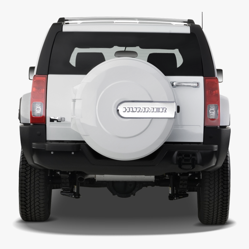 Jeep Clipart Car Rear - 2008 Hummer H3 Rear, HD Png Download, Free Download