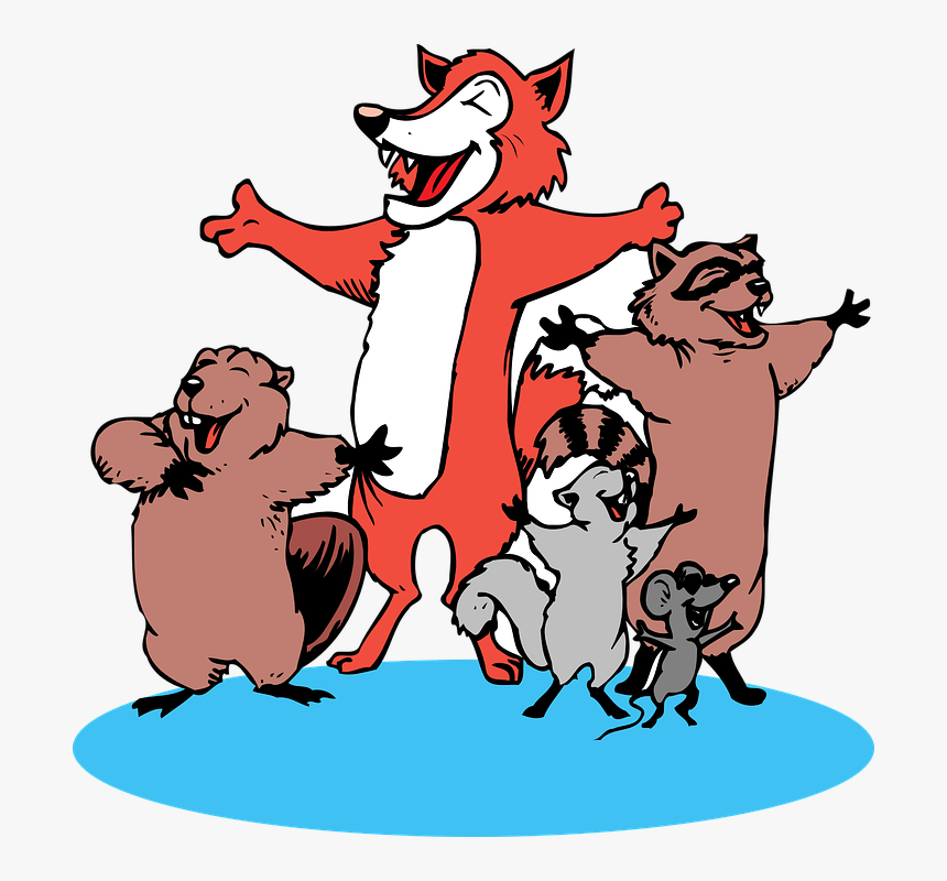 Singing Animals Clipart, HD Png Download, Free Download