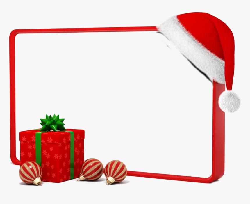 Square Christmas Frame Png Photos - Clip Art Christmas Border Design, Transparent Png, Free Download
