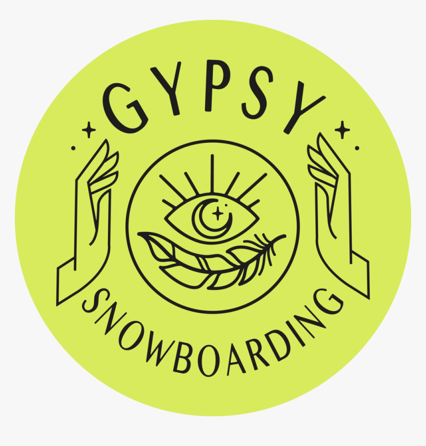Gypsy Snowboarding Black Logo Fluro Circle - Frog Coloring Pages For Kids, HD Png Download, Free Download
