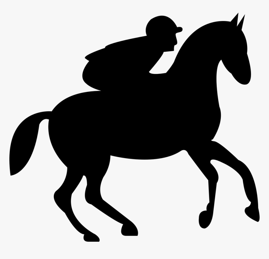 Running Horse Png -running Horse With Jockey Comments - Fond D Écran Equitation, Transparent Png, Free Download